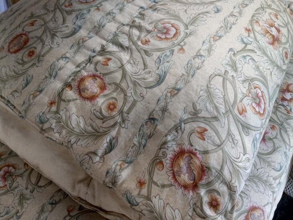 真綿入りの羽毛布団