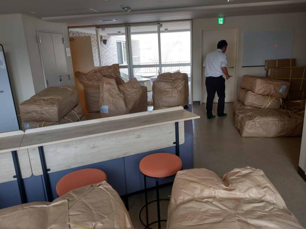 とある学校の寮にて使用するお布団
