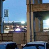 マツダスタジアムの灯り